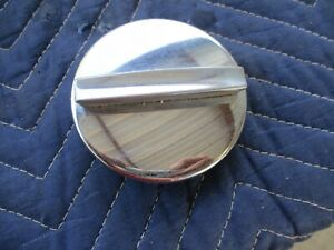 63 64 65 66 Dodge Dart Gt Chrome Gas Fuel Cap Very Nice Chrome