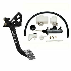Wilwood 340 13574k2 Brake Or Clutch Pedal Assembly And Master Cylinder Kit Inclu