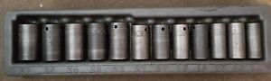 Snap On 1 2 Deep Impact Sockets Damaged Case