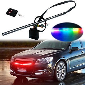 24 Rgb Led Knight Rider Light Strip Decoration Led Scanning Light Behind Grill