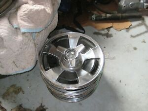 1960 s Chevy Corvette Vintage Used Hubcaps Nice Shape complete Set Of 4