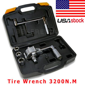 1 2 Torsional Torque Multiplier Wrench Lug Nut Remover Car Tire Disassembly