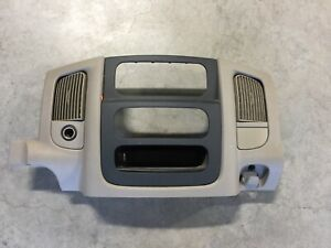 2003 2005 03 04 05 Dodge Ram 1500 2500 3500 Radio Tan Dash Bezel