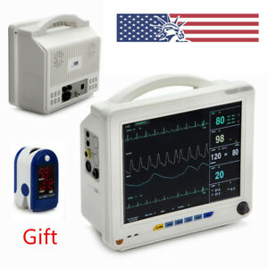 6parameter Vital Signs Patient Monitor Ccu Cardiac Monitor System Equipment Usa