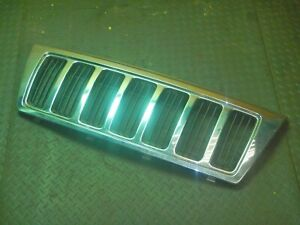 Jeep Grand Cherokee Wj 99 03 Chrome Front Grill Grille Oem Free Ship