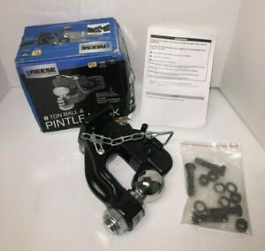 Reese Towpower 8 Ton Pintle Hook Towing Overland Off Road Trailer Hitch 74117