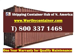 45 Hc Shipping Container 45ft Cargo Worthy Container In Savannah Ga