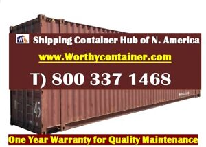 45 Hc Shipping Container 45ft Cargo Worthy Container Miami Fl