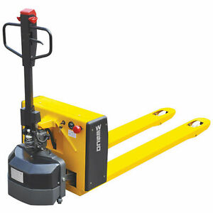 Wesco 174 Semi electric Pallet Truck 27 X 48 Forks 3300 Lb Capacity