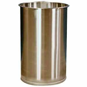 Dc Tech Dm101001 55 Gallon Open Head Stainless Steel Drum Without Lid