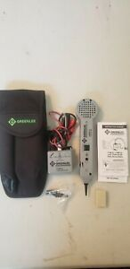 Greenlee Communications 200fp Filter Probe Tone Generator Bundle 77hp g 6a