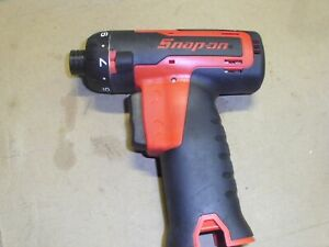 Snap On Cordless Screwdriver Cts761a 14 4 Volt Bare Tool Works Great Nice