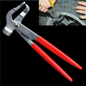 Car Wheel Weight Pliers Hammer Vehicle Balance Balancer Tool Metal Tire Repair