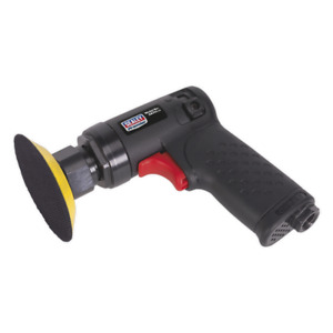 Air Sander 75mm Mini Orbital Composite Premier Uk Sealey Stockist