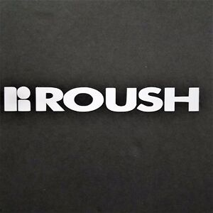 Roush Decal Vinyl Decal For Laptop Windows Wall Car Boat A