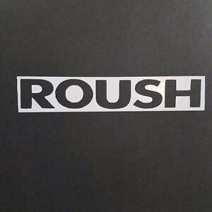Roush Decal Vinyl Decal For Laptop Windows Wall Car Boat