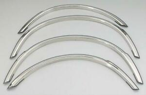 Fender Trim For Toyota Tacoma 2x2 2005 2004 Mirror Stainless High Polish Set 4