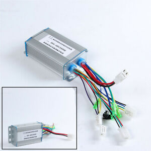 Silver Dc 36 48v 350w E bike Scooter Motor Electric Bicycle Brushless Controller