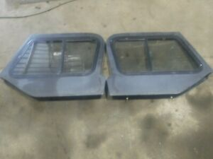 Jeep Wrangler Yj 87 95 Upper Half Hard Doors Sliding Windows Nice Shape
