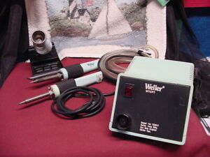 Wellerwtcpt 60 Watts 120vtempcontrolled Station 1tc201t 1soldering Iron Tc201 fe