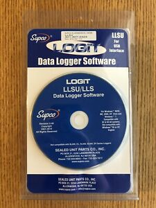 Supco Llsu Logit Software And Usb Interface Excellent Condition In Orig Box