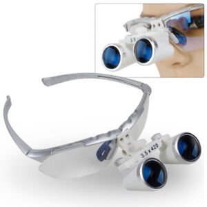 3 5x420mm Dental Loupes Surgical Medical Binocular Loupe Optical Glass Magnifier