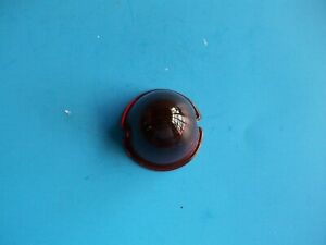 Beehive Red Antique 1930 1940 1950s Auto Lamp Glass Lens Tail Light 8945 Un67r