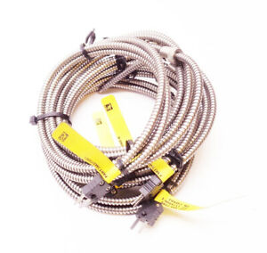 Lot Of 5 New Pyromation Jaa3u f1a060 6 Thermocouples