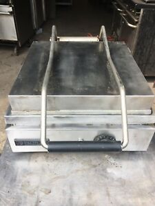 Panini Grill 115v Toastwell Made In Usa Heavy Duty Flat Surface