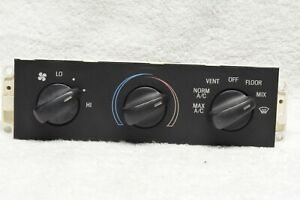 1996 1997 1998 1999 2000 Ford Mustang Heater A c Temperature Climate Control Oem