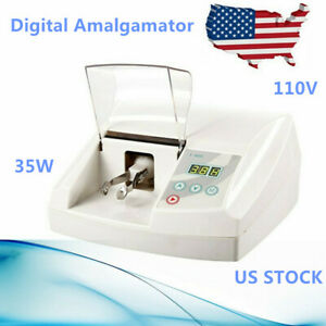35w Dental Digital Amalgamator Amalgam Capsule Mixer High Speed Lab Imix Us Ship