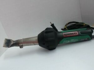 Leister Triac St 120v 13a 1600w Corded Hot Air Tool Heat Blower W Case 141 228