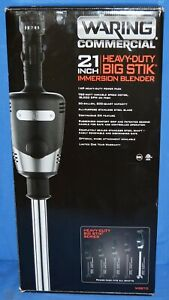 Waring Commercial 21 Heavy Duty Big Stik Immersion Blender Wsb70