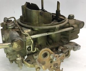 Vtg Holley Carburetor 600 Cfm List 8004 0952 Parts Or Rebuildable