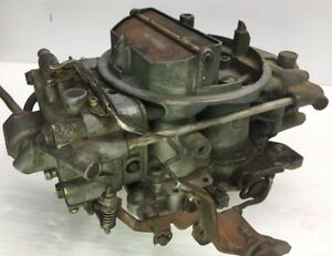 Vtg Holley Carburetor 650 Cfm List 7855 Thermoquad Quadrajet