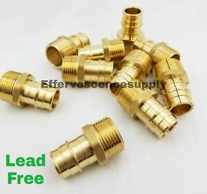 lot Of 10 3 4 Propex X Npt Male Adapter Lead Free Pex Expansion Fittings
