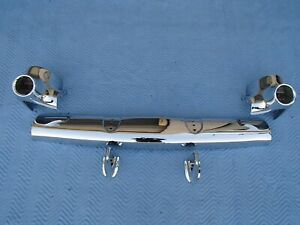 1955 Cadillac El Dorado Rear 5 piece Bumper Triple Chrome Show Quality