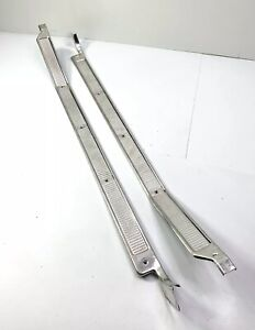 Pair 2 Truck Door Sill Plates For 1973 1979 Ford F100 Other Models