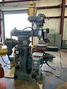 Wells index 860 48 x 10 Table 4200 Rpm 4 axis Cnc Mill W m 400 Centroid Control