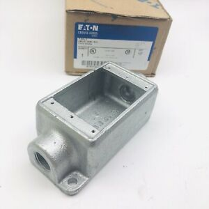 Crouse Hinds Fsc1 Cast Device Boxes 1 2 Condulet Series Single Gang