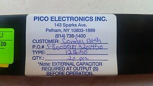 Pico 12av150 Dc dc Conv And Switching Regulator Module 12v In 150vout 0 0083a