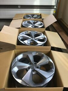 19 Inch 2018 2019 Honda Accord Gray Machined Oem Wheel Rim 19x8 5 64126 A