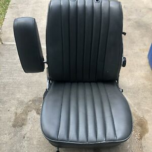 Mercedes Benz R107 1984 1989 560sl 380sl Seat With Frame Left Gray