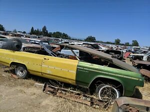 1963 Oldsmobile Dynamic Super 88 Convertible Right Dr Hinge Parting Out Complete