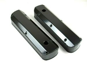 Sbf 289 302 351 Fabricated Tall Alum Valve Covers Black Anodize Bpe 2325ba