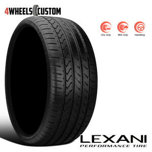1 X New Lexani Lx twenty 275 40 20 106w Ultra High Performance Tire
