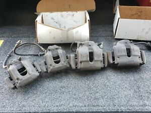 Bmw E46 M3 Front Rear Brake Calipers Set Left Right Caliper With Pads And Lines
