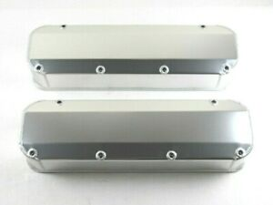 Bbf Ford 390 460 Fabricated Alum Valve Cover Long Bolt Clear Ano Bpe 2339ca