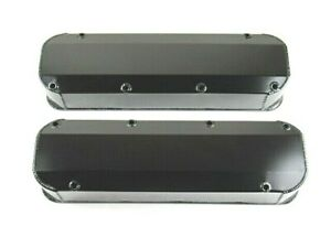 Bbf Ford 390 460 Fabricated Alum Valve Cover Long Bolt Black Anodized Bpe 2339ba