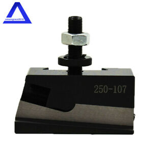 Quick Change New Axa 7 250 107 Universal Parting Blade Holder Cnc Lathe